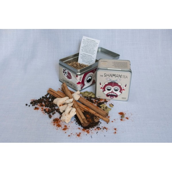 The SHAMAN TEA by SPAROZA- Spicy black tea (100gr.)